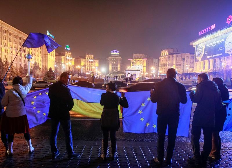 Киев 21 ноября 2013