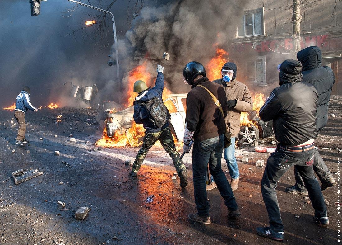 Антиправительственные выступления в Киеве